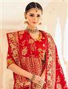 photo of Wedding Wear Yellow Art Silk Fabric Fancy Embroidered Lehenga Choli