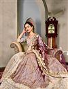 picture of Beige Art Silk Designer Wedding Function Wear Lehenga Choli