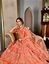 photo of Red Wedding Wear Designer Lehenga Choli In Art Silk