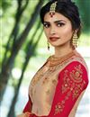 photo of Prachi Desai Embroidered Red Reception Lehenga In Art Silk Fabric