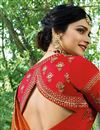 picture of Prachi Desai Embroidery Work On Art Silk Designer Lehenga In Red