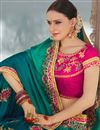 photo of Function Wear Designer Embellished Saree In Georgette And Art Silk