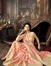 photo of Magnificent Cream Color Party Saree In Art Silk Fabric