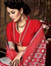photo of Imperial Pink Color Party Wear Art Silk Saree With Weaving Work