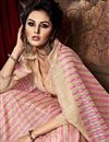 photo of Impressive Peach Color Party Wear Art Silk Saree