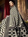 photo of Black Color Party Wear Weaving Saree In Art Silk Fabric