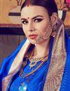 photo of Enticing Teal Kanjivaram Silk Designer Saree With Weaving Work