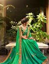 photo of Fancy Green Party Wear Embroidered Saree With Blouse