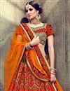 photo of Eid Special Designer Velvet Embellished Sangeet Wear Lehenga In Multicolor