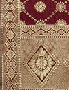 photo of Brown Color Fancy Banarasi Silk Fabric Dupatta For Function Wear