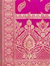 photo of Banarasi Silk Fabric Rani Color Function Wear Dupatta