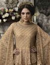 photo of Evening Party Wear Fancy Embroidered Gown In Net