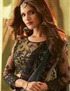 photo of Grey Art Silk Party Style Lace Border Saree With Fancy Blouse