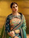 picture of Embellished Wedding Wear Designer Saree In Silk