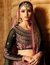 photo of Wedding Special Art Silk Function Wear Grey Designer Saree With Embellished Blouse