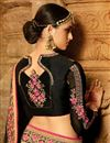 picture of Wedding Special Art Silk Function Wear Grey Designer Saree With Embellished Blouse