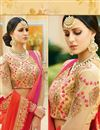 photo of Designer Wedding Function Wear Red Color Georgette Saree With Fancy Blouse