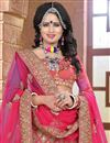 photo of Pink Color Stylish Designer Lehenga Choli In Silk Fabric