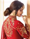 picture of Eid Special Ayesha Takia Wedding Wear Red Embroidered Long Anarkali Suit