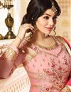 photo of Wedding Special Ayesha Takia Pink Embroidered Function Wear Long Anarkali Suit