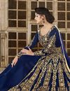 photo of Ready To Ship Designer Function Wear Embroidered Fancy Lehenga In Art Silk