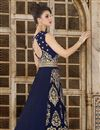 photo of Ready To Ship Velvet Long Floor Length Anarkali Dress