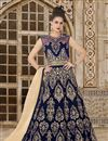 image of Ready To Ship Velvet Long Floor Length Anarkali Dress