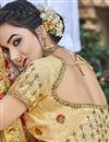 photo of Trendy Art Silk Beige Function Wear Embroidered Saree