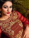 picture of Wedding Wear Designer Cream Color Net Fabric Embroidered Lehenga Choli
