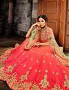 photo of Function Wear Fancy Embroidered Lehenga Choli In Art Silk