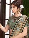 photo of Party Style Chikoo Color Art Silk Saree With Embroidered Blouse