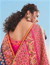 photo of Blue Color Art Silk Fabric Function Wear Saree