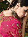 photo of Wedding Function Wear Designer Green Color Fancy Saree