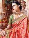 photo of Wedding Function Wear Designer Pink Color Fancy Saree