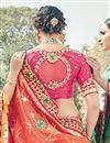 photo of Wedding Special Art Silk Fancy Function Wear Embroidery Work Saree In Orange