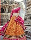 image of Eid Special Handwork Embroidered Fancy Lehenga In Art Silk