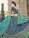 photo of Eid Special Art Silk Embellished Wedding Wear Lehenga Choli