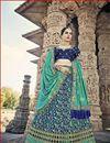 image of Eid Special Art Silk Embellished Wedding Wear Lehenga Choli
