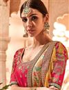 photo of Mustard Georgette Saree With Border Work And Beautiful Blouse