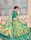 photo of Wedding Function Wear Sea Green Fancy Lehenga Choli