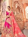 image of Wedding Function Wear Rani Color Fancy Lehenga Choli