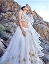photo of Eid Special White Net Fabric Occasion Wear Lehenga Choli With Embroidery Work