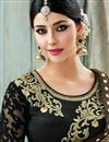 photo of Fancy Fabric Party Wear Beige Color Saree With Unstitched Designer Blouse