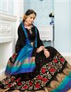 photo of Traditional Function Wear Fancy Black Weaving Work Saree In Cotton Fabric