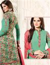 photo of Elating Georgette Fabric Green Color Party Wear Salwar Suit