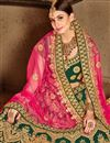 photo of Wedding Special Embroidered Green Bridal Lehenga In Satin Fabric With Designer Choli