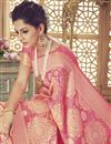 photo of Wedding Function Wear Art Silk Pink Traditional Saree