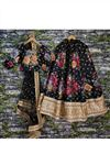 picture of Embroidered Art Silk Digital Floral Print Lehenga Choli