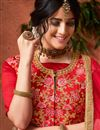 photo of Designer Function Wear Lehenga With Fancy Embroidery In Art Silk Beige
