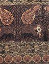 picture of Digital Print Beige Color Art Silk Fancy Dupatta